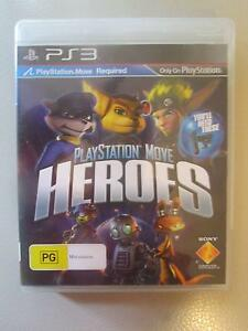 Playstation Move: Heroes For PS3 ***BRAND NEW*** Campbell North Canberra Preview