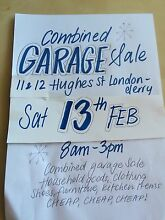 Garage sale combined Londonderry Penrith Area Preview