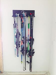 Ski and snowboard racks!
