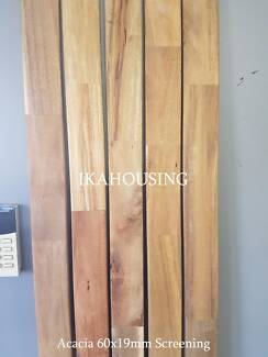 NEW 60x19mm Acacia Timber Screening FJ  1.8m lengths ONLY $1.5/m!
