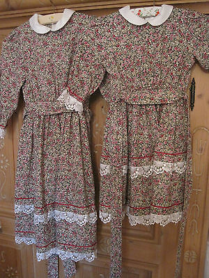 Hübsche Blumenkinder Kleider für Hochzeit 2 Stückfür ca. 2Jahre und ca. 4Jahre (Hübsche Hochzeits-kleider)