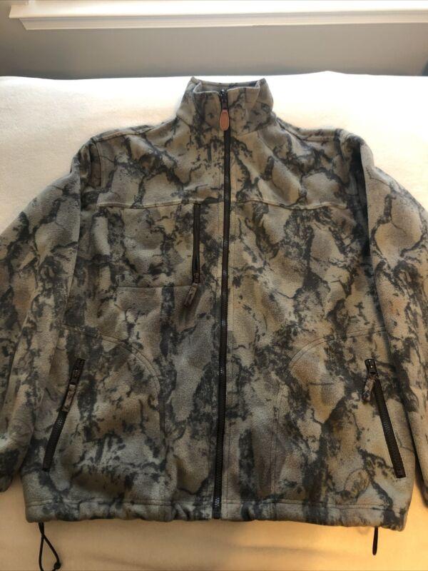 Natural Gear Camo Fleece Jacket