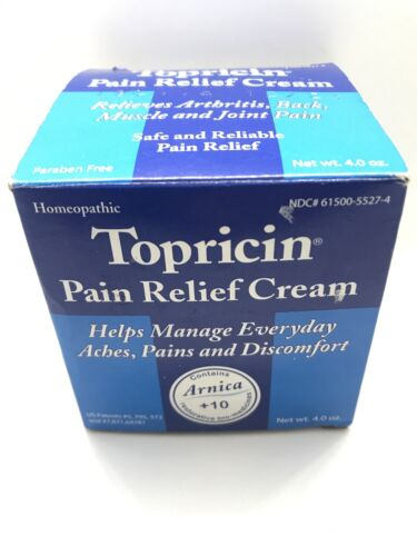 Topricin - Moisturizing cream relief for arthritis and joint