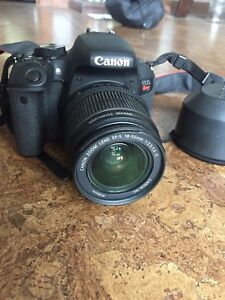 Canon rebel T7i, 18-55mm and 75-300mm lenses