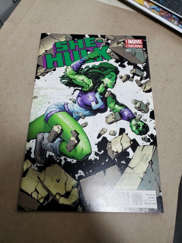 She Hulk 1 2014 rare Variant Stegman 1:50