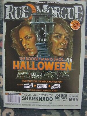 Rue Morgue 183 Uncirculated  The Bogeyman Is Back Halloween   OUT OF PRINT](Outback Halloween)