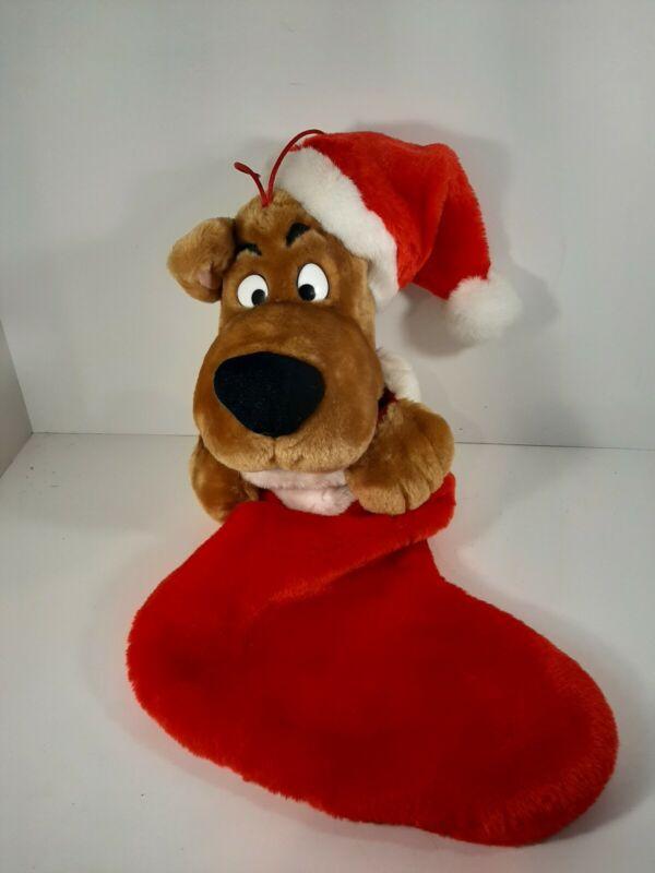 Cartoon Network Gemmy Scooby Doo Singing Christmas Stocking Works