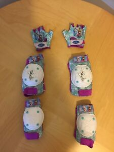 Protège-Velo pour les filles /Bicycle pads for girls! Age5-7!