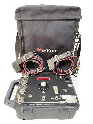 Megger Biddle Dlro 10a 247001 Single-pak 10a Digital Low Resistance Ohmmeter Dh1