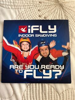 i-Fly Indoor Skydiving voucher