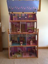 Large doll/barbie house with furniture Hahndorf Mount Barker Area Preview