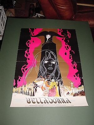 "BELLADONNA OF SADNESS 1973 20x28"" A Japanese/English Anime poster."
