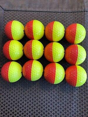 PING GOLF BALL/S-(1) YELLOW/ORANGE PING EYE2....NO LOGO....8/10 OR (Best Orange Golf Balls)