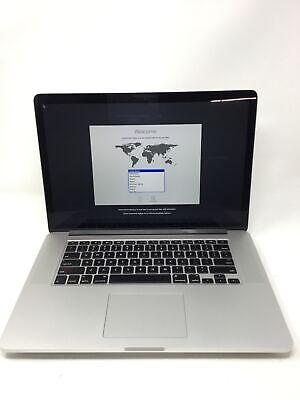 """Apple MacBook Pro 2015 15.4"""" RETINA Laptop - MJLQ2LL/A BTO 2.5GHz i7 16GB 256GB"""
