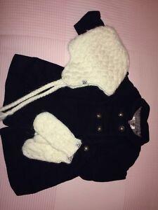Manteau pour fillette Zara et accessoires
