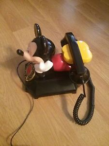 MICKEY MOUSE COLLECTABLE TELEPHONE updated NEW AD ########## Windsor Region Ontario image 4