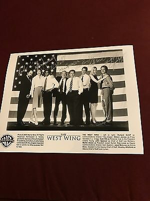 West Wing Cast Photo 2000 Find Reprint