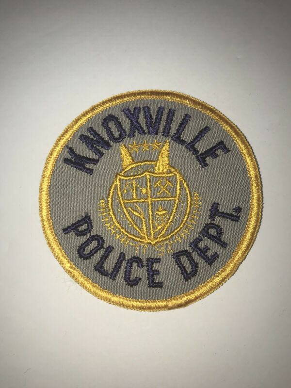 Vintage Knoxville Tennessee Police Dept Patch Cheesecloth