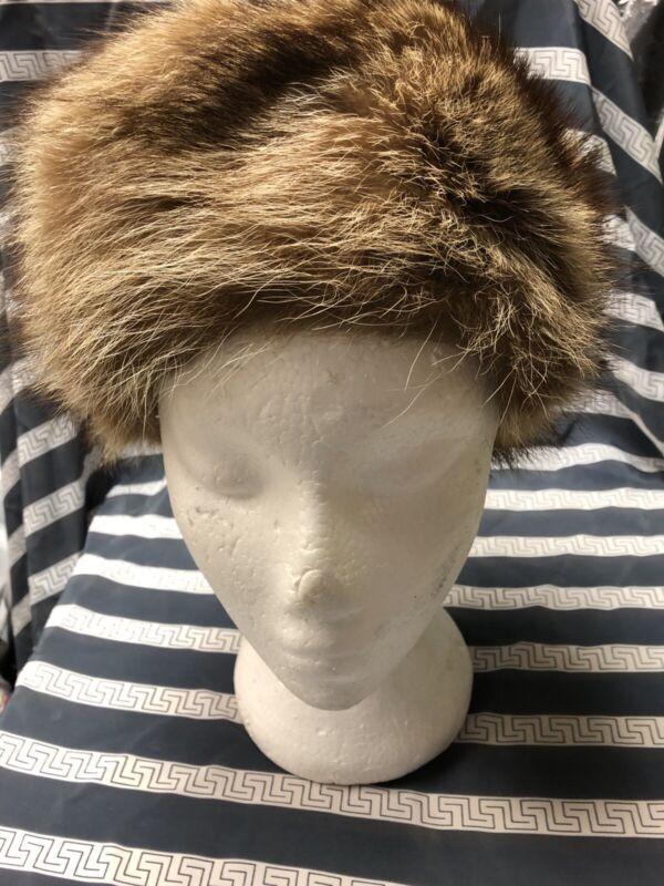 Vintage Ladies Fur Hat Macys NYC