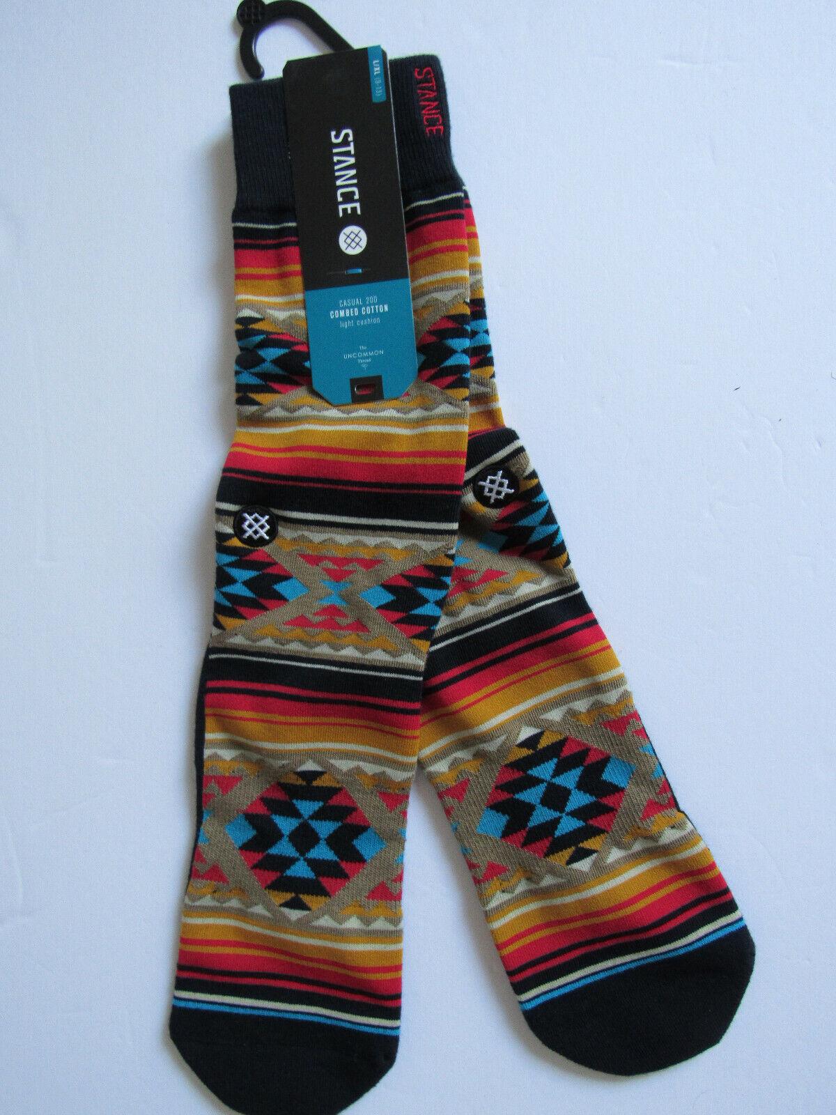 Stance Combed Cotton Light Cushion Socks Mens  L/XL NWT Owen