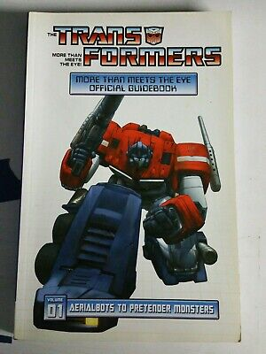 The Transformers 1: More Than Meets the Eye Official Guidebook (v. 1) (More Than Meet The Eye)