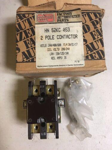 HN52KC-053 Carrier Contactor 208-240VAC NIB