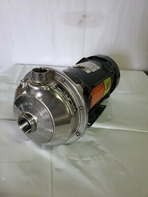Goulds Npe 1x1-146 Centrifugal Pump 85gpm40tdh1.5hp Explosion Proof Motor