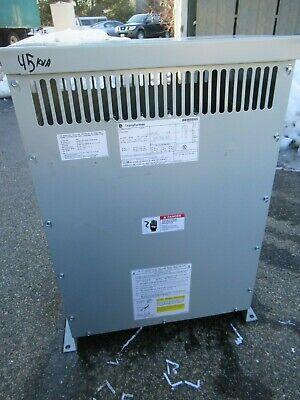 Ge 9t10c1003 45 Kva 480 X 120208 Volt Dry Type Copper Transformer Ns- T1686