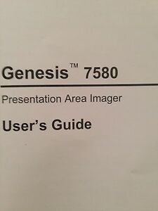 Honeywell Genesis MS7580 Scanner