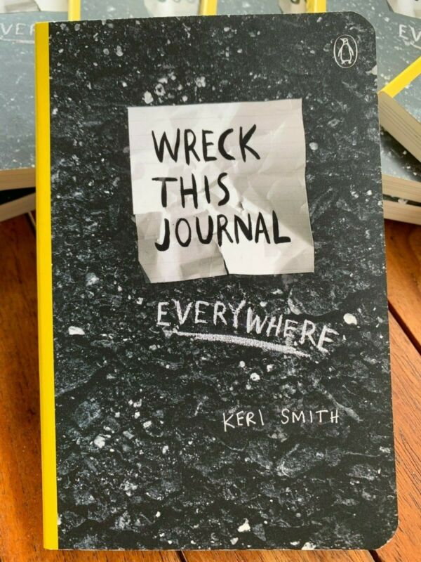 Wreck This Journal Everywhere Brand New!