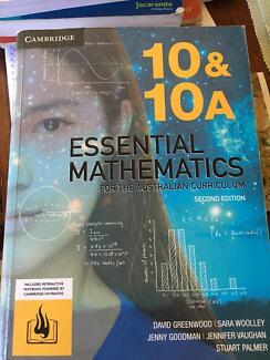 Cambridge essential mathematics 10&10A