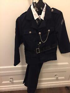 Brand new never worn Policeman costume