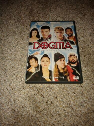 Dogma DVD, 2000 Ben Affleck, Matt Damon, Salma Hayek, Chris Rock,  - $9.99