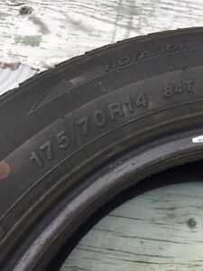 Set of Four 14'' Winter Tires