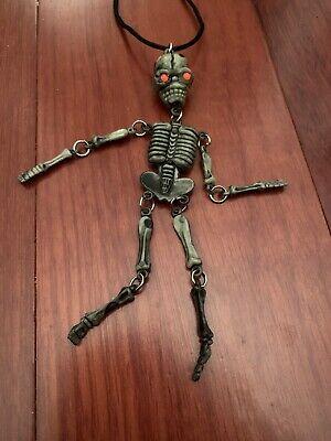 "Small Plastic Skeletons (Skeleton-6 "" Miniature Plastic Small Halloween Dollhouse Fairy Garden)"