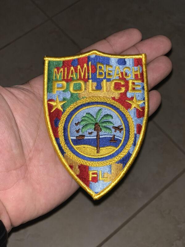 Miami Beach Police Autism Patch
