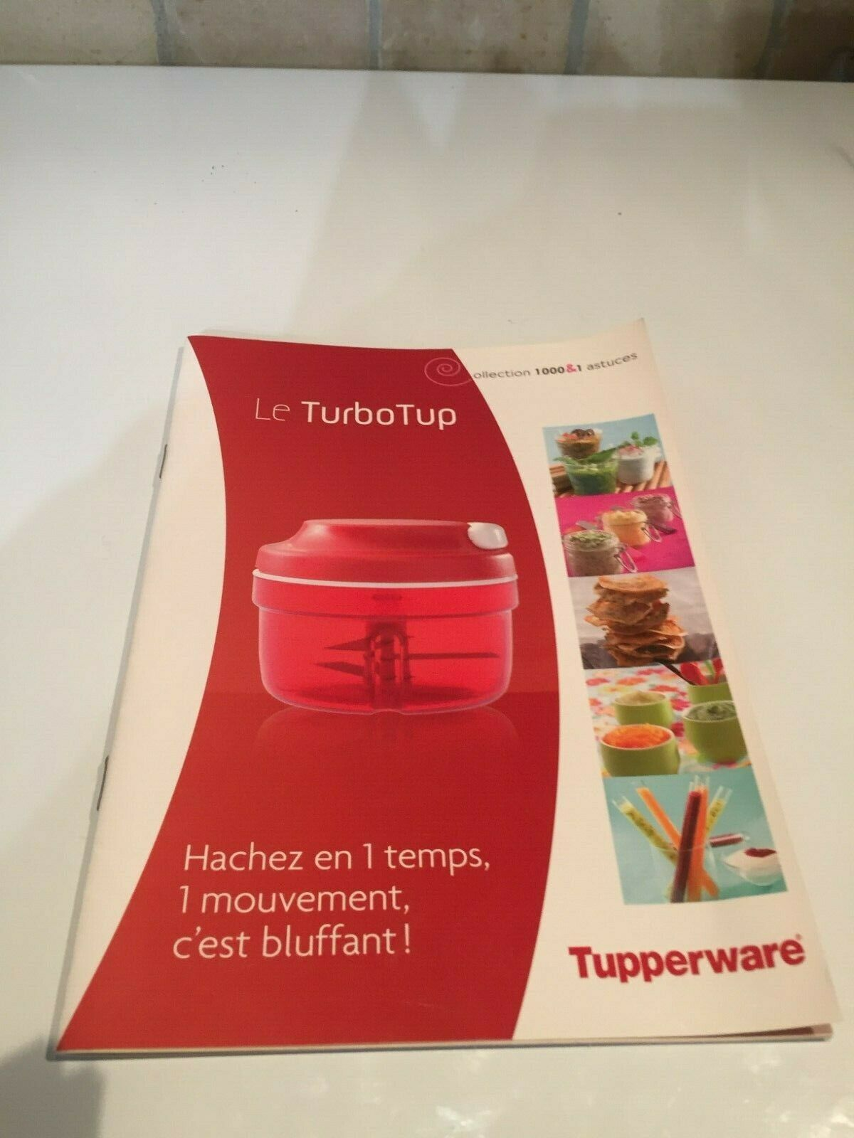 Livret tupperware : le turbotup