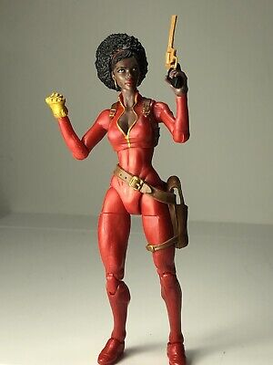Spider-Man Marvel Legends Rhino Series Misty Knight, Loose Action Figure