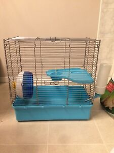 Used Hamster/Gerbil Cage and Accessories