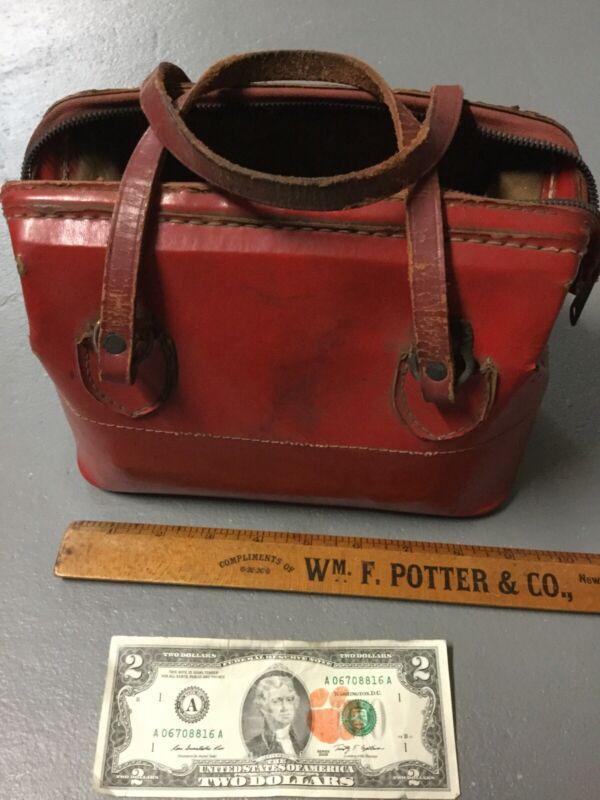 Very Rare Vintage Pennsylvania Railroad Flare Bag / Case