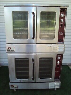 Southbend Silverstar Slgs22sc Gas Double Bakery Commercial Oven Bakery Pizza