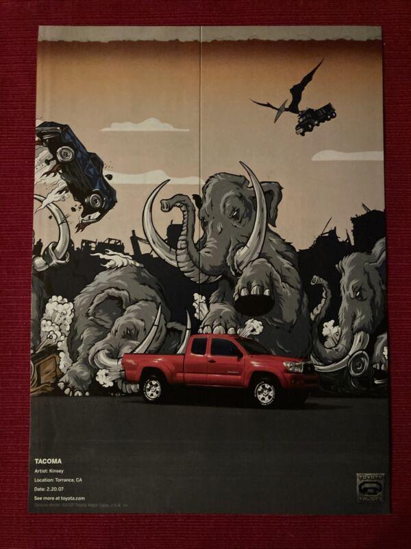 Toyota Tacoma Truck Artist: Kinsey 2008 Ad/Poster Promo Art Ad