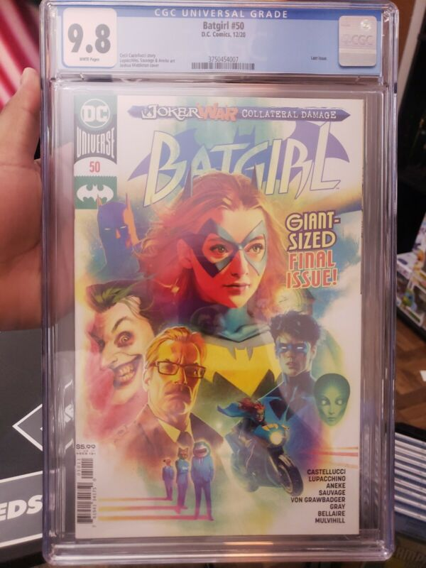 Batgirl #50 CGC 9.8 NM/MT DC 2020 -1st Appearance Of Ryan Wilder