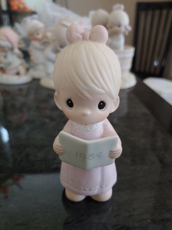 precious moments 1984 annual edition collectable figurine