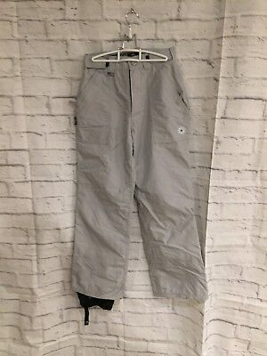 Sessions Outerwear Snow Snowboard Grey Womens Pants sz SML Base ()