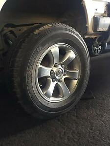 Used tyres and Mag wheels Toyota Prado Other 4x4 Sunshine Brimbank Area Preview