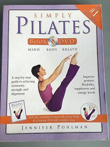 Pilates book and DVD Aberglasslyn Maitland Area Preview