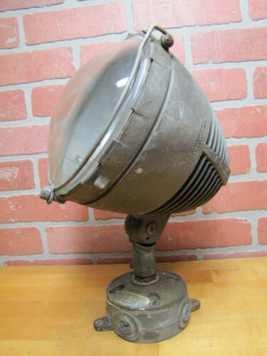 STONCO USA Industrial Adjustable Light Assembly Space Age Retro Spotlight