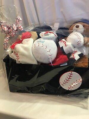 Baby Boy Baseball Gift Baskets Baseball Gift Baskets