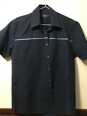 Men's Shirt, Small, Blue, Kangol